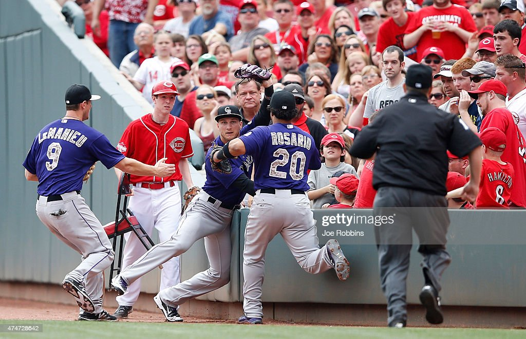 Colorado Rockies v Cincinnati Reds : News Photo