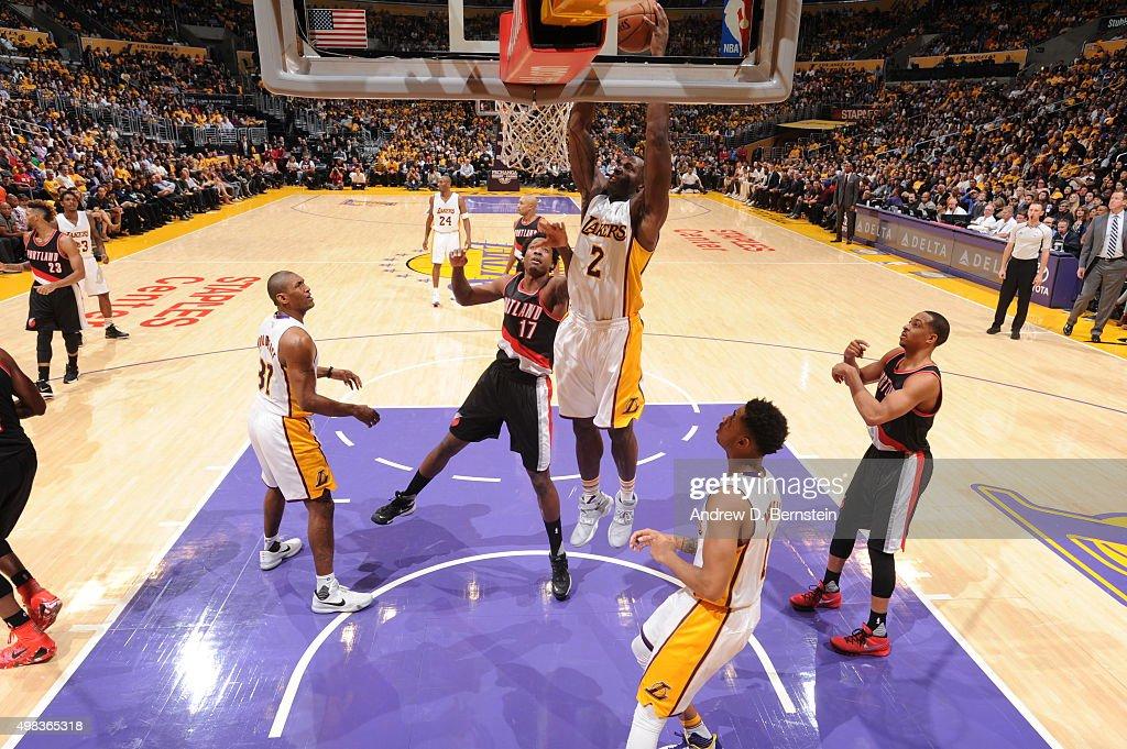 the best attitude dec91 997b0 Portland Trail Blazers v Los Angeles Lakers   News Photo
