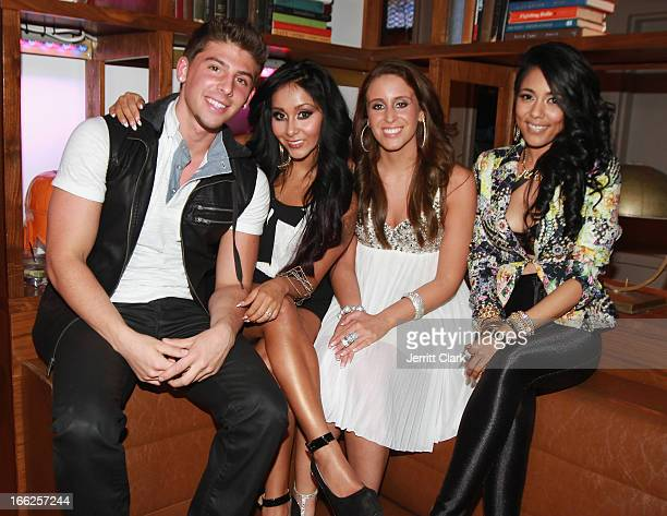 30 Top Nicole Snooki Polizzi Launches Team Snooki Music At Bounce