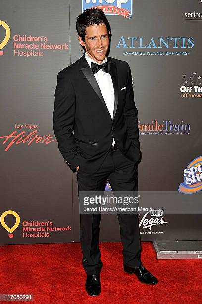 Brandon Beemer arrives at 38th Annual Daytime Entertainment Emmy Awards For Soap Opera Weekly on June 19 2011 in Las Vegas Nevada