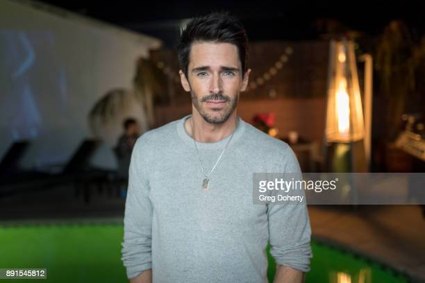 Brandon Beemer attends The Bay Ugly Sweater And Secret Santa Christmas Party at Private Residence on December 12 2017 in Los Angeles California