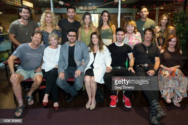 Brandon Beemer Brittany Underwood Erik Fellows Taylor Stanley Celeste Fianna Patrika Darbo Jake Hunter and Terri Ivens Matthew Ashford Mary Beth...