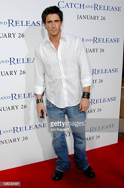 Brandon Beemer during 'Catch And Release' Los Angeles Premiere Arrivals at Egyptian Theater in Hollywood California United States