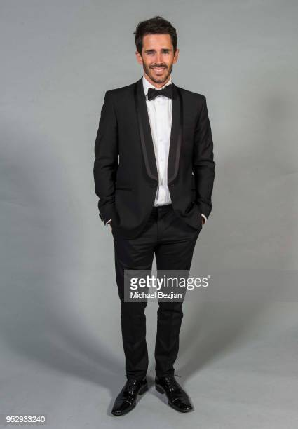 Brandon Beemer poses for portrait at 45th Daytime Emmy Awards Portraits by The Artists Project Sponsored by the Visual Snow Initiative on April 29...