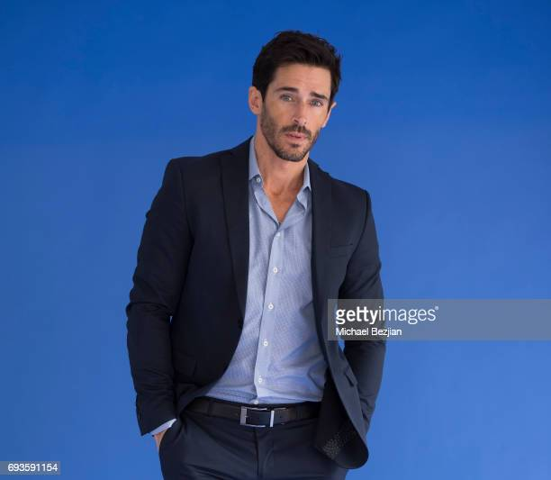 Brandon Beemer poses for portrait Cast Members Of The Bay Visit The Artists Project on June 7 2017 in Los Angeles California
