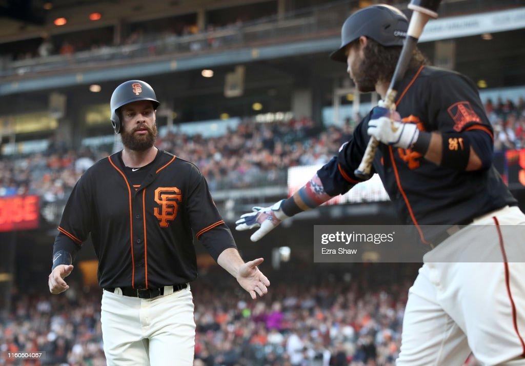 St Louis Cardinals  v San Francisco Giants : News Photo