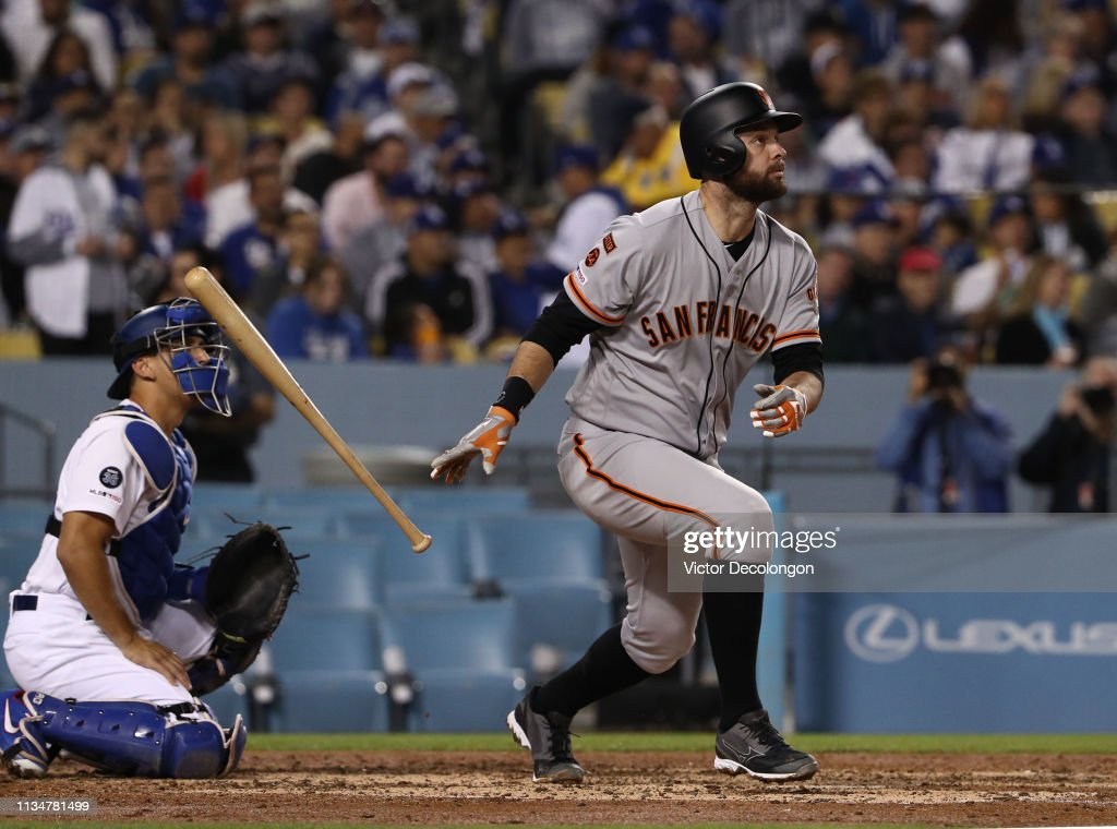 San Francisco Giants v Los Angeles Dodgers : News Photo