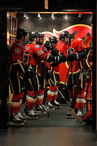 Anaheim Ducks v Calgary Flames - Game Four