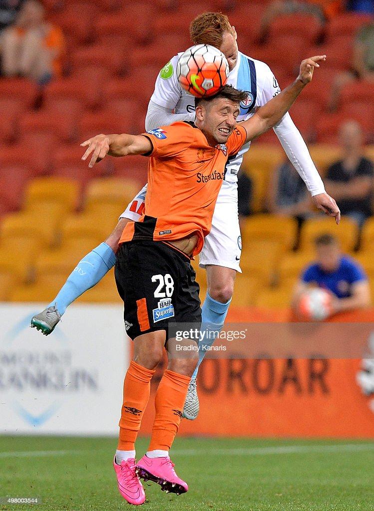 A-League Rd 7 - Brisbane v Melbourne