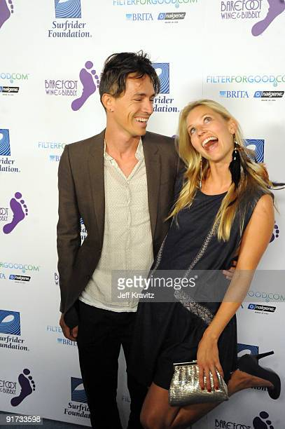 Brandon Boyd and Carolyn Murphy attends The Surfrider Foundation's 25th Anniversary Gala at the California Science Center's Wallis Annenberg Building...