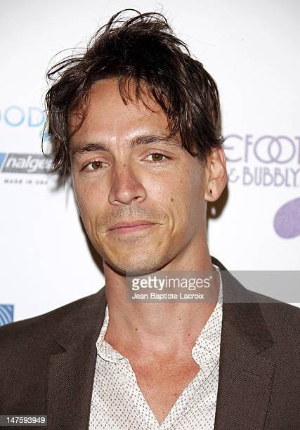 Brandon Boyd arrives at The Surfrider Foundation's 25th Anniversary Gala at the California Science Center's Wallis Annenberg Building on October 9...