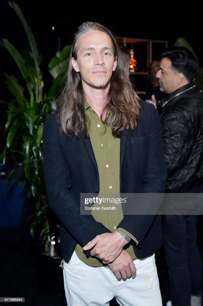 Brandon Boyd attends LOUIS XIII Cognac Presents '100 Years' - The Song We'll Only Hear #IfWeCare - by Pharrell Williams at Goya Studios on April 17, 2018 in Los Angeles, California.