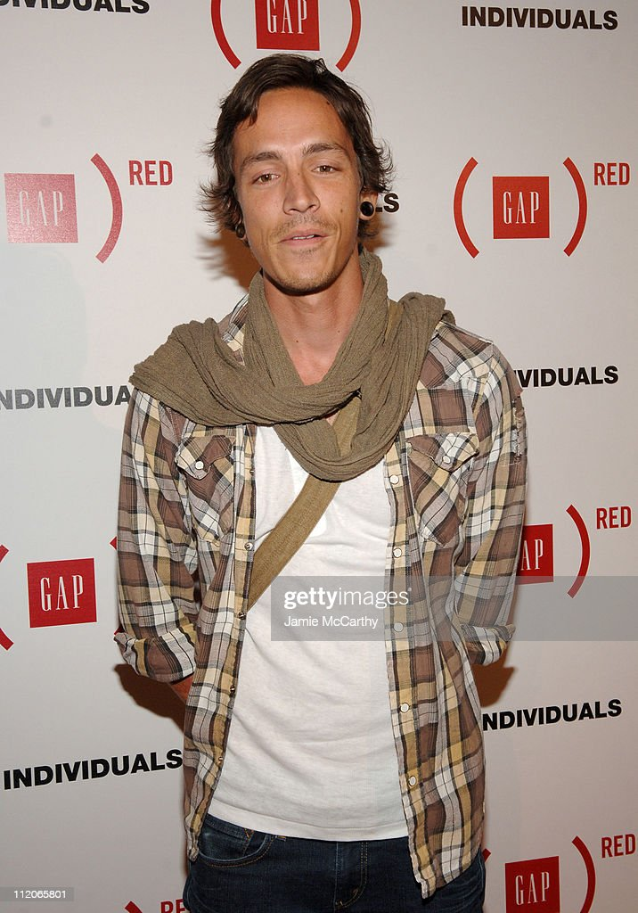 Brandon Boyd during Gap Celebrates the Launch of 'Individuals' A Collection of Iconic Gap Portraits at Eyebeam in New York City, New York, United States.