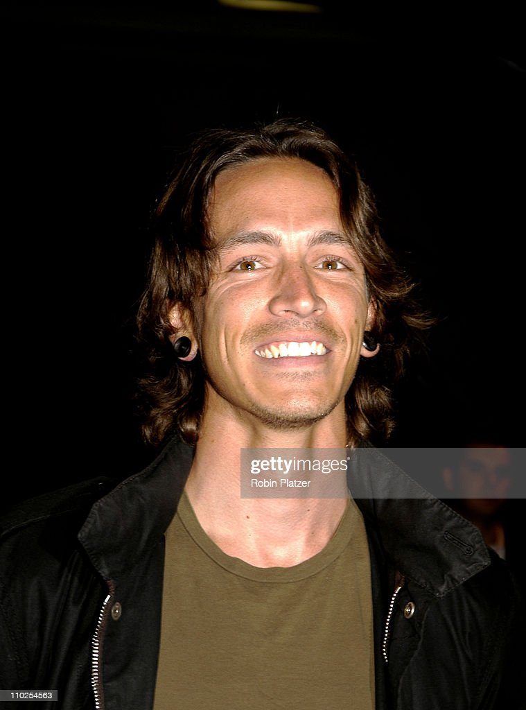Brandon Boyd during Olympus Fashion Week Spring 2006 - Marc Jacobs - Front Row and Backstage - September 12, 2005 at The 26th Street Armory in New York City, New York, United States.