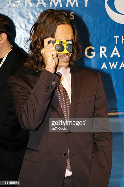 Brandon Boyd during The 45th Annual GRAMMY Awards Arrivals at Madison Square Garden in New York NY United States