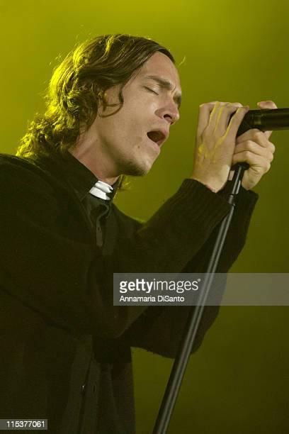 Brandon Boyd Incubus lead singer dressed as a priest