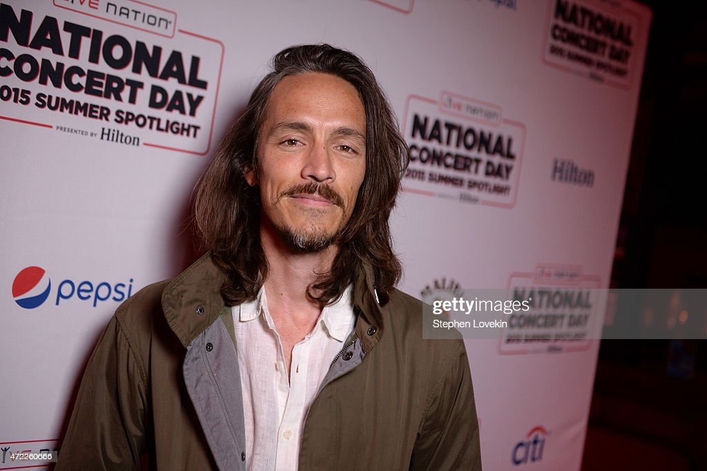 Brandon Boyd of Incubus arrives as Live Nation Celebrates National Concert Day At Their 2015 Summer Spotlight Event Presented By Hilton at Irving Plaza on May 5, 2015 in New York City.