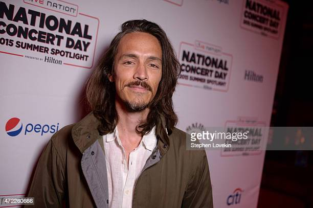 Brandon Boyd of Incubus arrives as Live Nation Celebrates National Concert Day At Their 2015 Summer Spotlight Event Presented By Hilton at Irving...