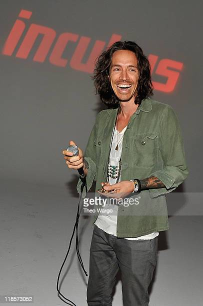 Brandon Boyd of Incubus attends VEVO Summer Sets at Skylight West on July 8 2011 in New York City