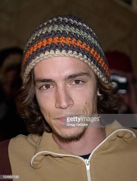 Brandon Boyd of Incubus during 2001 Fox Billboard Bash at Studio 54 in Las Vegas Nevada United States