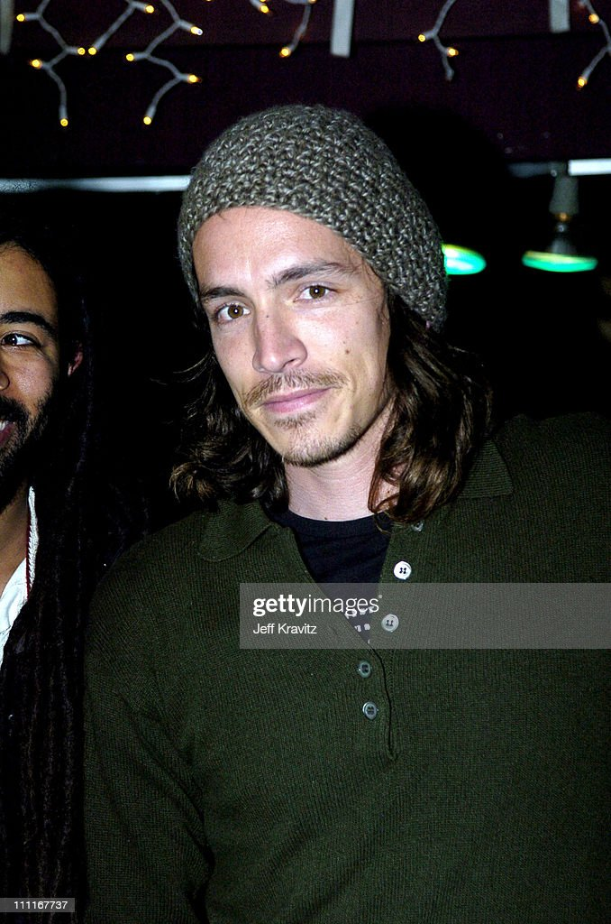 Brandon Boyd of Incubus during 2004 KROQ Almost Acoustic Christmas - Night 2 - Backstage at Universal Amphitheatre in Universal City, California, United States.