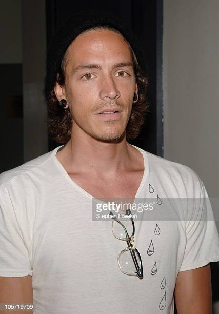 Brandon Boyd of Incubus during Amanda de Cadenet Photography Exhibit Opening Sponsored by Nikon at Staley Wise Gallery in New York City New York...