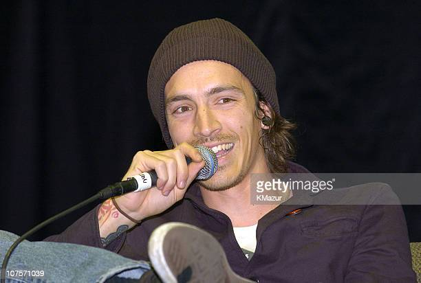 Brandon Boyd of Incubus during Incubus Fans Conference at Sony Picture Studios at Sony Picture Studios in Culver City Los Angeles