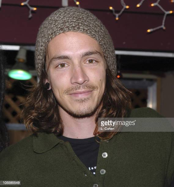 Brandon Boyd of Incubus during KROQ Almost Acoustic Christmas Night 2 Backstage at Universal Amphitheatre in Los Angeles California United States