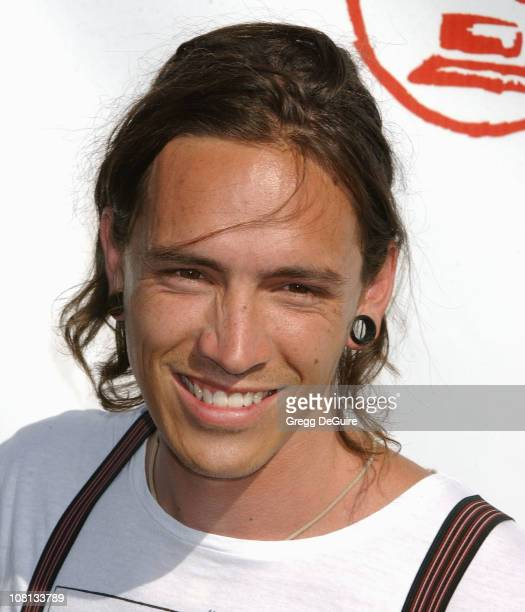 Brandon Boyd of Incubus during The 5th Annual Latin GRAMMY Awards Arrivals at Shrine Auditorium in Los Angeles California United States