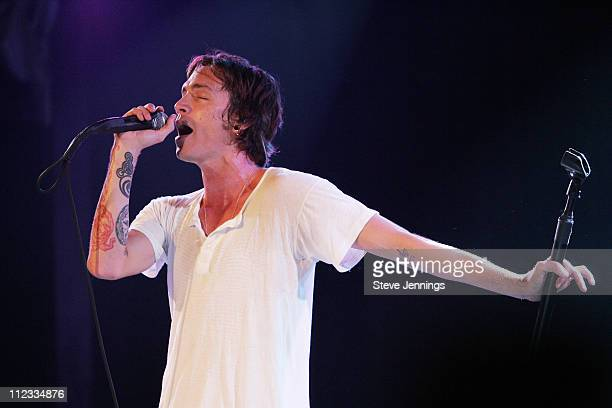 Brandon Boyd of Incubus during Verizon Wireless Presents Incubus Private Concert October 20 2006 at Bimbo's 365 Club in San Francisco CA United States