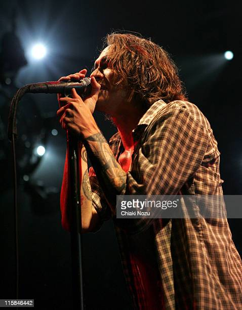 Brandon Boyd of Incubus in concert at Brixton Academy London on September 30 2007