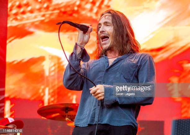Brandon Boyd of Incubus performs during day 1 of Shaky Knees Music Festival at Atlanta Central Park on May 3, 2019 in Atlanta, Georgia. (Photo by...