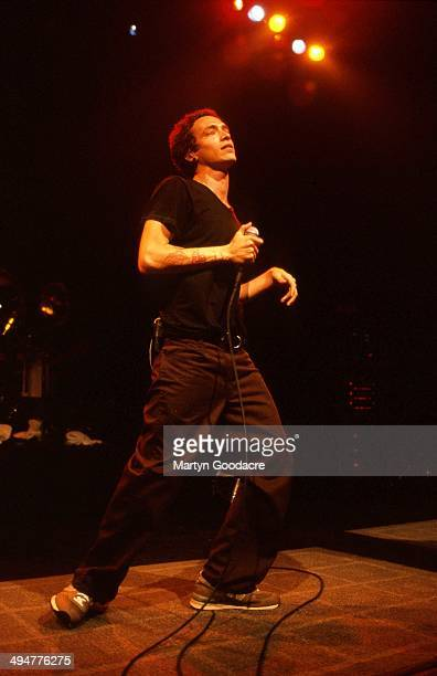 Brandon Boyd of Incubus performs on stage London United Kingdom 2000