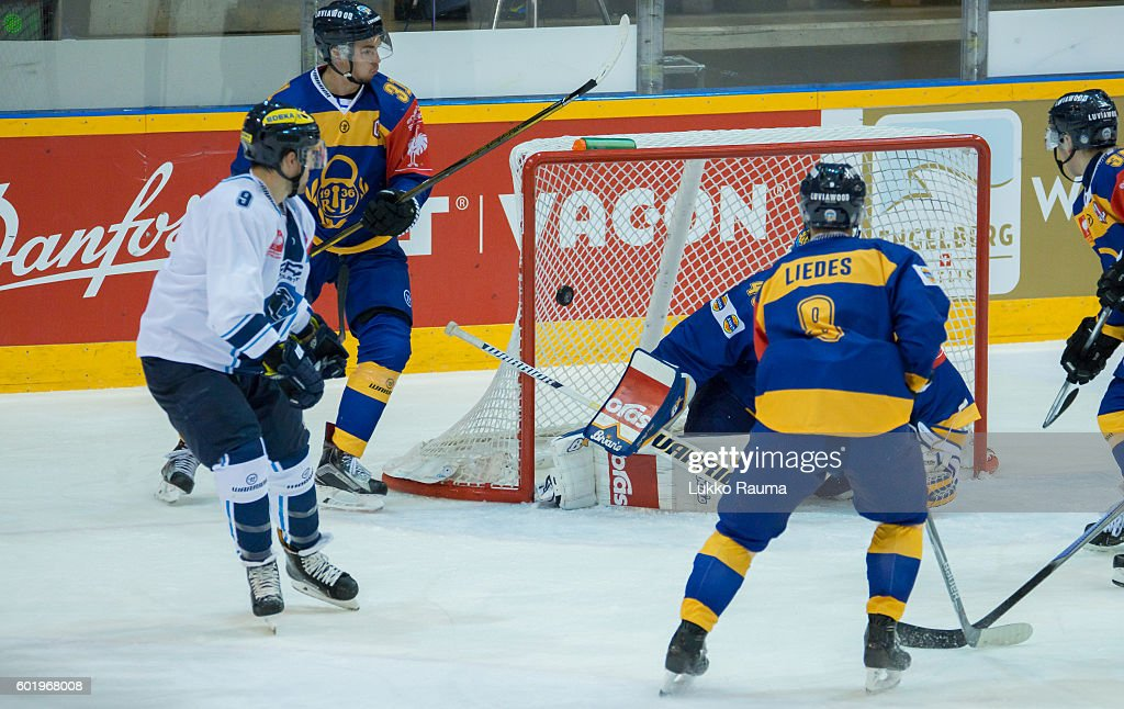 FIN: Lukko Rauma v ERC Ingolstadt - Champions Hockey League