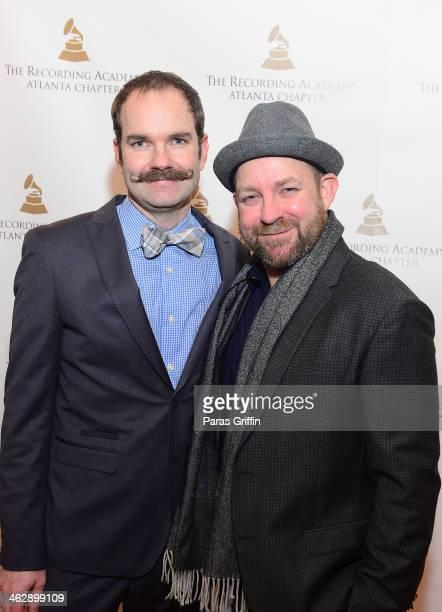 Brandon Bush and Kristian Bush of the band Sugarland attend the Recording Academy Atlanta Chapter Celebrates Georgia's 56th Annual Grammy Nominee...