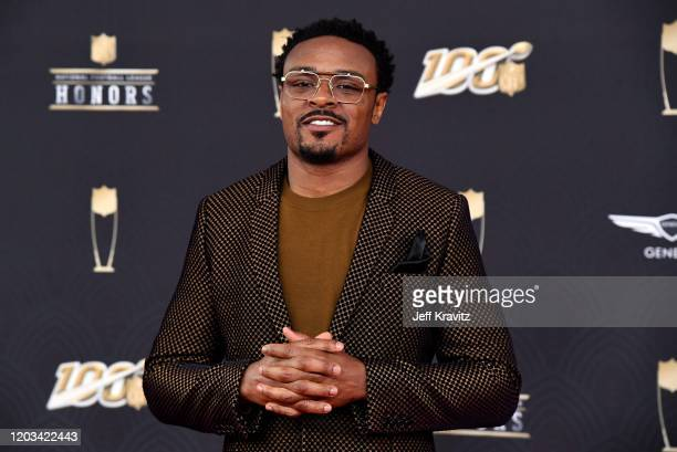 Brandon Carr attends the 9th Annual NFL Honors at Adrienne Arsht Center on February 01, 2020 in Miami, Florida.