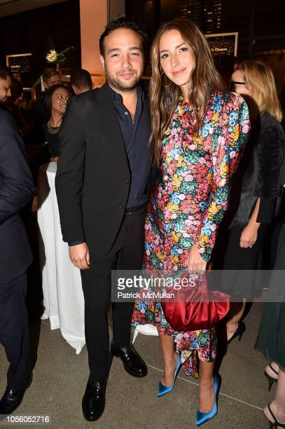 Brandon Charnas and Arielle Charnas attend The 12th Annual Golden Heart Awards at Spring Studios on October 16 2018 in New York City