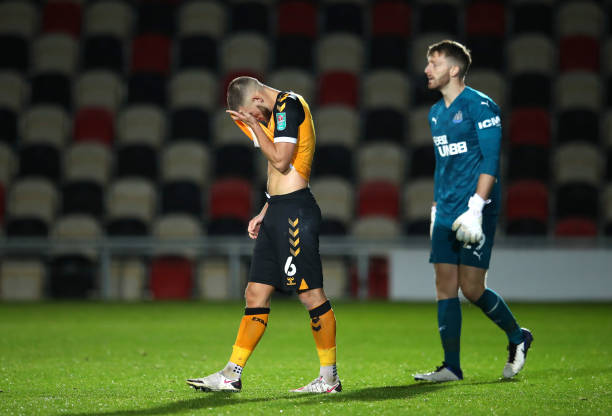 GBR: Newport County v Newcastle United - Carabao Cup Fourth Round