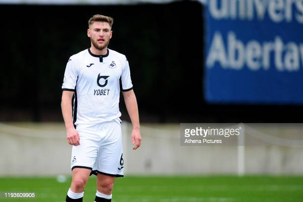Brandon Cooper of Swansea City u23 during the Premier League 2 Division Two match between Swansea City u23s and Middlesbrough u23s at Swansea City...