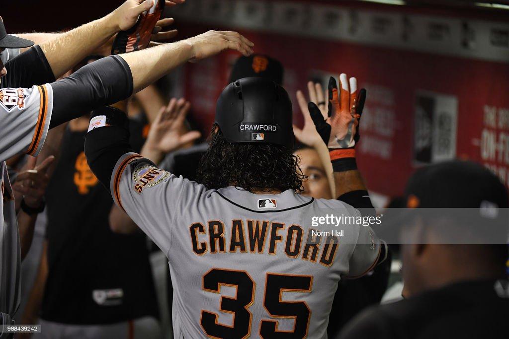 San Francisco Giants  v Arizona Diamondbacks : News Photo