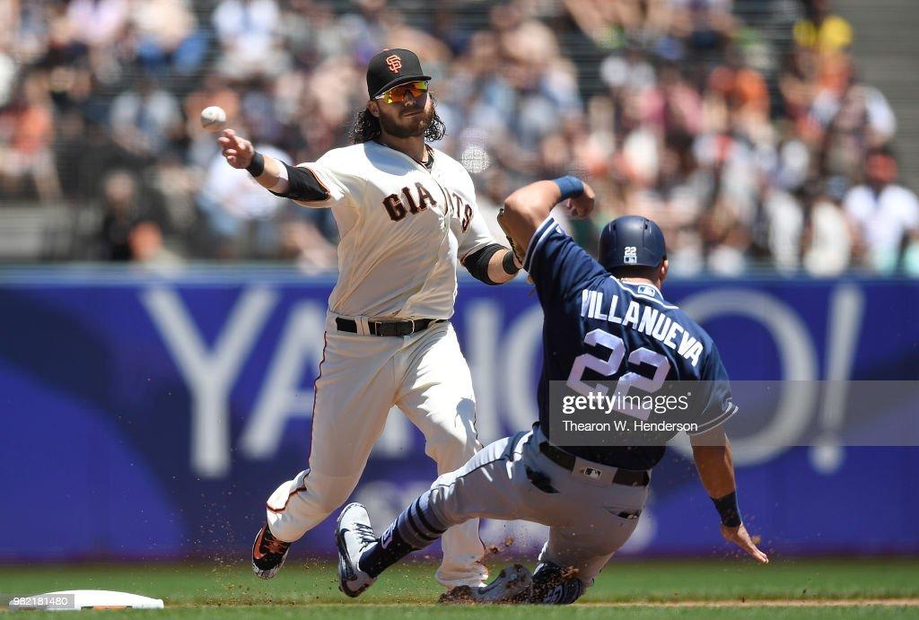 San Diego Padres v San Franciso Giants