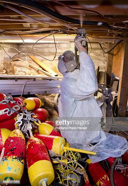 23 Spray Foam Insulation Pictures, Photos & Images - Getty