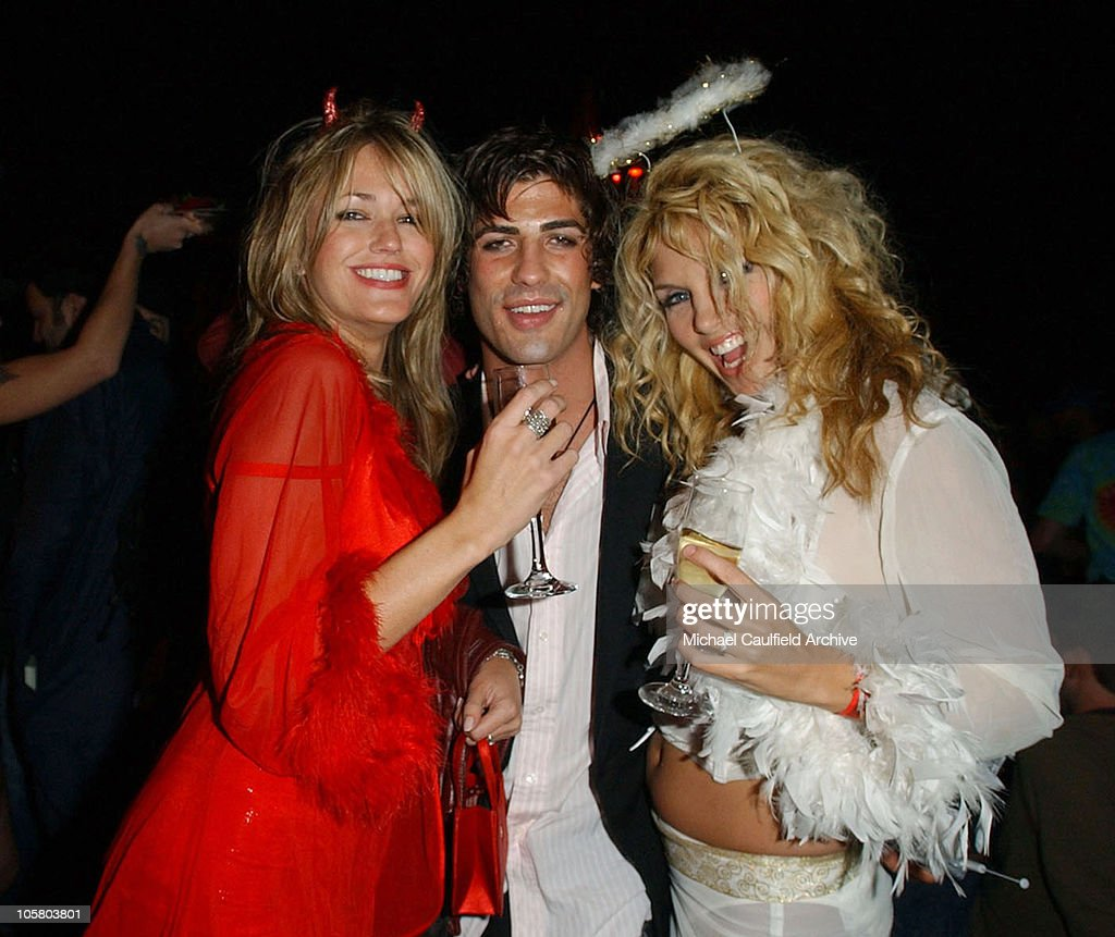 Brandon Davis and guest during Girls Gone Wild Elegant Sin Halloween Party - Inside at Private  sc 1 st  Getty Images & Girls Gone Wild Elegant Sin Halloween Party - Inside Photos and ...