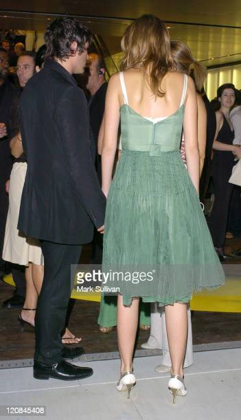 Brandon Davis and Mischa Barton during Prada Opens Beverly Hills Epicenter Arrivals at Rodeo Drive in Beverly Hills California United States