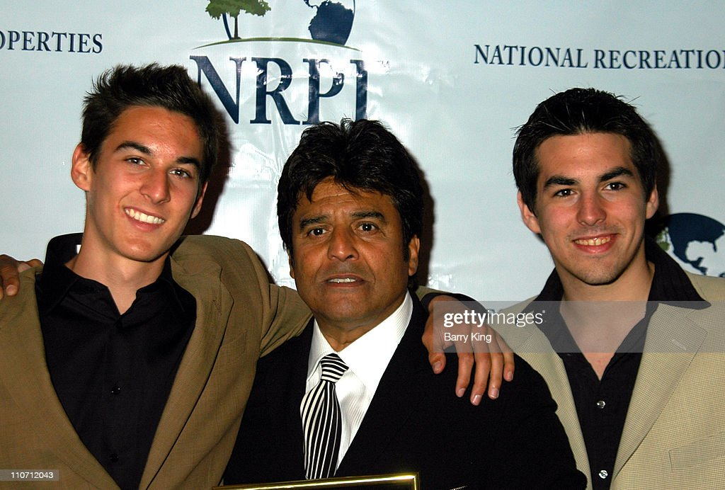 Brandon Estrada, Erik Estrada and Anthony Estrada during Erik Estrada Honored with Star on the Hollywood Walk of Fame at 7021 Hollywood Blvd. in Hollywood, California, United States.