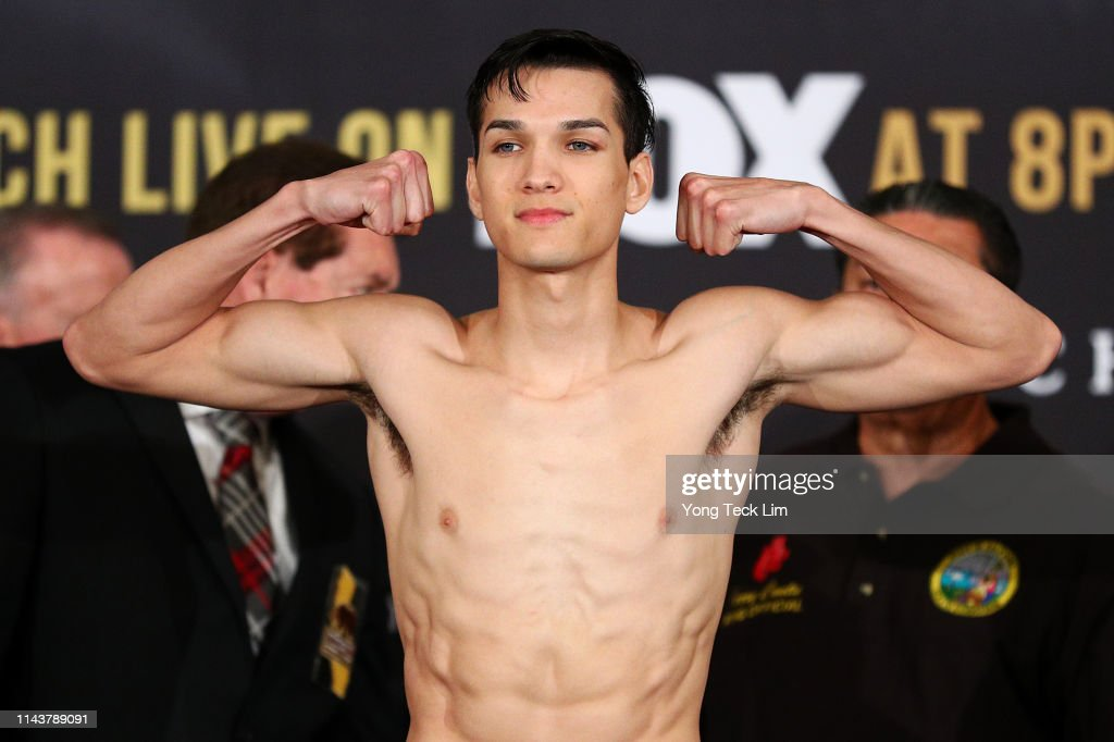 CA: Danny Garcia v Adrian Granados - Weigh-in