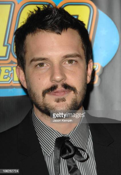 Brandon Flowers of The Killers during Z100's Jingle Ball 2006 Press Room at Madison Square Garden in New York City New York United States