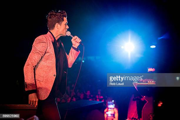 Brandon Flowers of The Killers performs at Snowmass on September 3, 2016 in Aspen, Colorado.