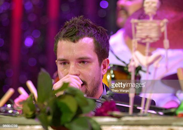 Brandon Flowers of The Killers performs 'When You Were Young' 'Bones' 'Read My Mind' and 'A Great Big Sled'