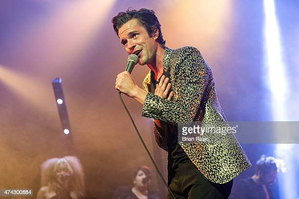 Brandon Flowers performs at O2 Academy Brixton on May 21 2015 in London United Kingdom